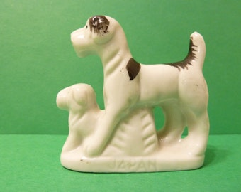 Terrier Dogs, Miniature, Figurine
