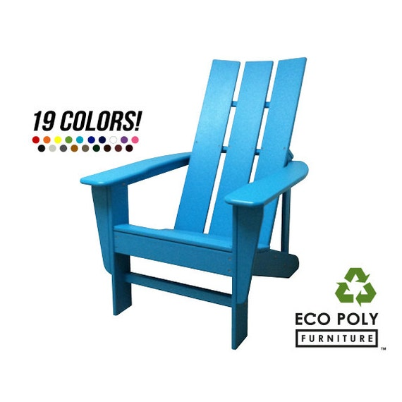 VueModern Adirondack Chair Modern By Ecopolyfurniture On Etsy