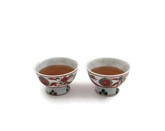 Japanese Vintage Chawan Teabowl, Vintage Japanese Sake Cup, Vintage Japanese Teabowl, Japanese Chawan