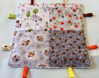 Baby taggie woodland creature theme