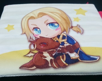 World Of Warcraft Wrathion&Anduin Wrynn coin purse