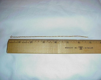 14k Rope Bracelet 7 inch
