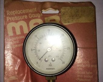 Pressure Gauge 30 PSI