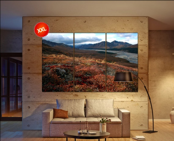 Denali National Park  canvas Denali National Park wall decoration Denali National Park canvas art large canvas  wall decor