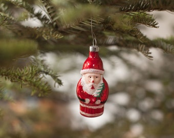 Darling Vintage Santa Ornament {SALE}