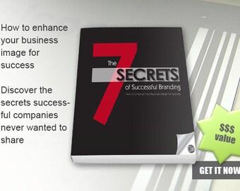 The 7 Secrets of Successful Branding - Ebook - immediately downloadable