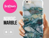 Teal Nordic marble iPhone 6 case iPhone 6s case  galaxy s7 S6 case s5 case 6 Plus case iPhone 5s Case 5C case samsung galaxy s5 case