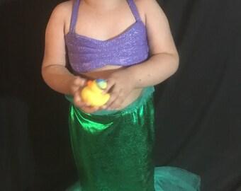 Little mermaid costume Ariel inspired