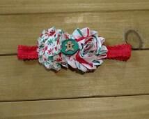 Infant Gingerbread Christmas Headband
