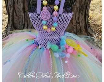 Candyland tutu, candy tutu dress, candy land tutu dress, candy tutu, candland birthday tutu, candyland birthday, candy birthday