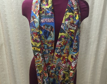 Marvel Comic Book Infinity Scarf
