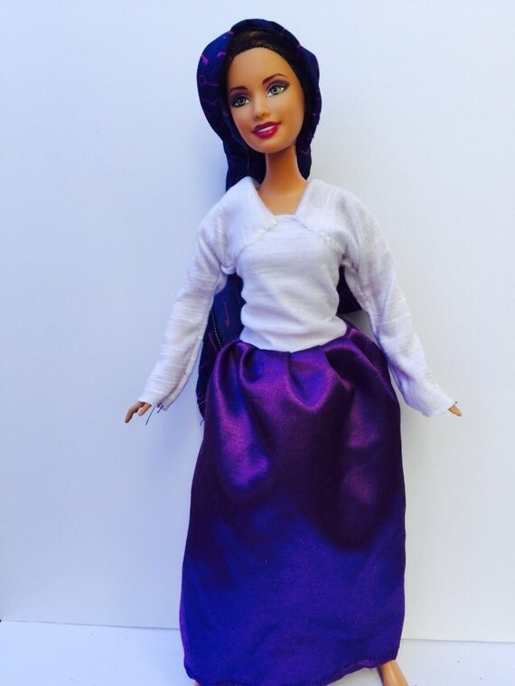 Jewish Barbie Doll Outfit By DunyaDiverseDolls On Etsy