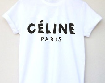 Celine Paris High Fashion Inspired Custom T Shirt