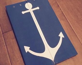 Anchor Pallet Sign - Reclaimed Wood Anchor Wall Art - Anchor Decor