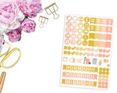 SBC August Icons and Weekend Banners -- Matte Planner Stickers