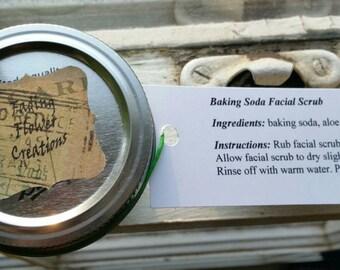Baking Soda Facial Scrub
