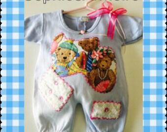 Shabby Chic Baby * Baby Girls *Infants Girls* Newborn outfit*