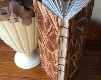 Organic leaf journal/sketchbook