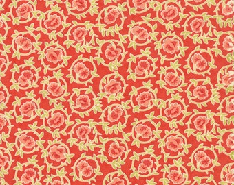1 YD - Somerset (Poppy) by Fig Tree Quilts from MODA Fabrics