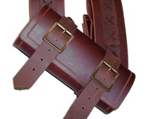 Adjustable laced sheath for sword or medieval weapon foam or latex