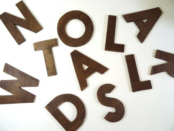 wooden letters size 4 39 39 wall decor wooden wall signs home