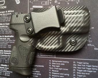 SALE ! Taurus PT 111/140 Millennium G2 Custom Holster - Carbon Fiber Black / iwb / ccw / Right Hand