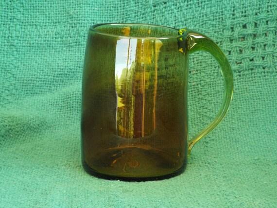 Vintage Glass Mug 66