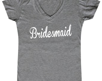 Bridesmaid - Ladies' V-neck