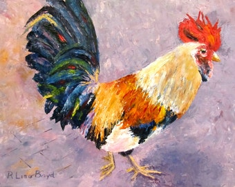 Key West Chicken by pallet knife