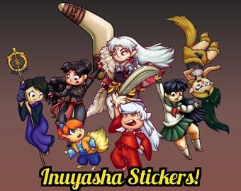 Inuyasha Stickers