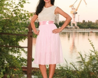 Pink tulle skirt,ballet skirt,bachelorette skirt,short tutu skirt,bridesmaid skirt,maxi tulle skirt,teen tutus,adult  tutus,prom tutu skirt