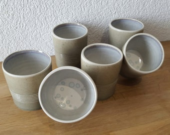 Espresso cups (sold by 6)
