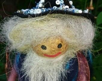 Alchemy Wizard - wool felt wizard