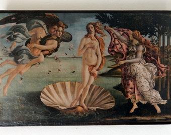 The Birth of Venus, Sandro Botticelli 1486. Uffizi, Florence.FREE SHIPPING