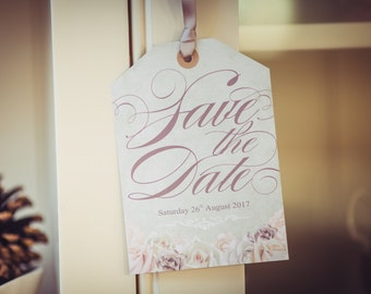 Romance - Save the Date Tag