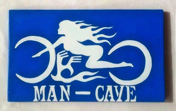 Man Cave Gifts For Christmas : Man cave sign christmas gift for husband by