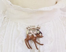 Cute bambi brooch!