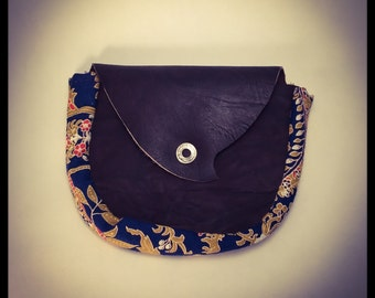 Recycled Leather Hip Pouch