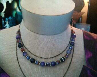 Semi-Precious Gemstone Necklace
