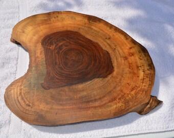 Large Handmade Rosewood Cutting Board/Cheese Board