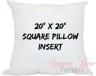 Pillow Inserts - Pillow inserts for Pillow Cases - Pillow Cover for Custom Pillows
