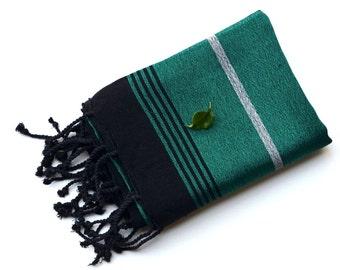 Silk Bamboo Peshtemal - Turkish Towel  / Vedding Gift / Wedding Favor / Bridesmaid Gift / Wedding Present / Scarf / Shaw /Turkish Blanket-21