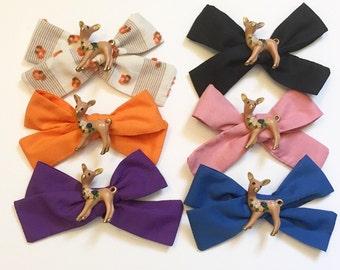 Deer hair bows