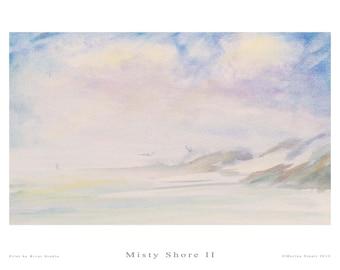 Fine Art Print - Misty Shore II - Marina Stuart