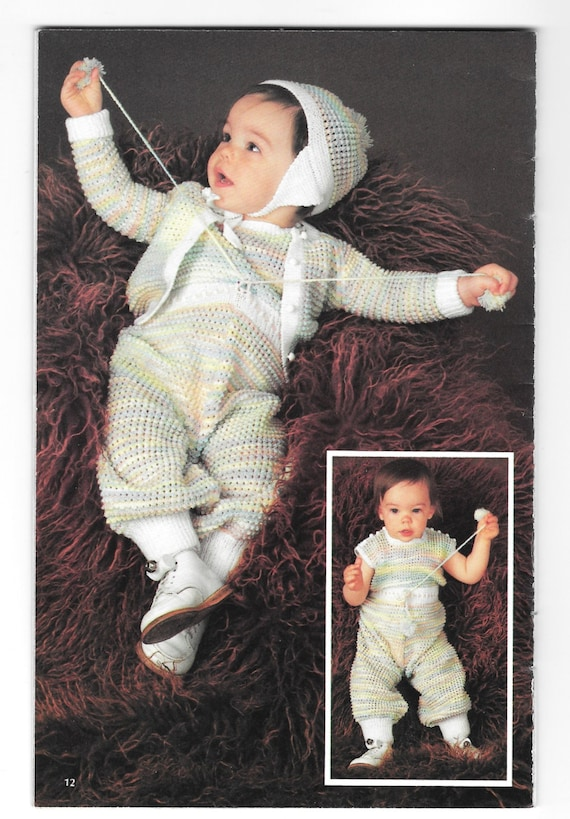 Knit And Crochet Baby Patterns A Blessed Event Coats