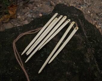 naalbinding needles / viking / medieval