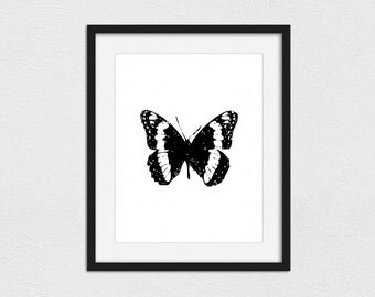 Butterfly Printable // Instant Download // Printing Services Available // Foil Printing Available // Butterflies // Butterfly Print