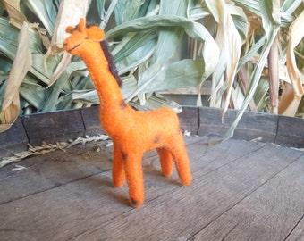 SALE !! Giraffe ,ornament,toy,orange,gift,christmas ornament
