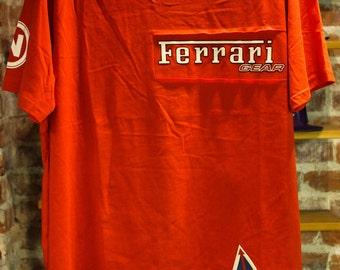 VTG Deadstock  Ferrari t-shirt DS w/tags size XL