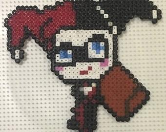Harley quinn mini hama bead